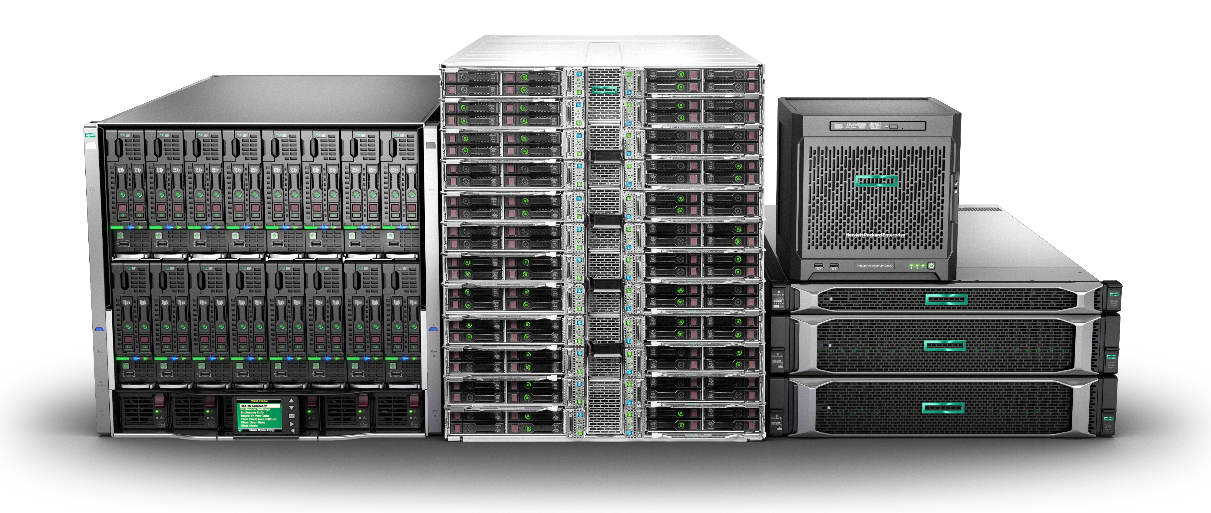 HPE представила новые серверы ProLiant Gen 10